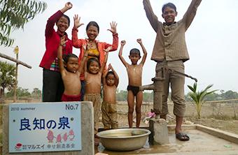 カンボジアへの支援(井戸の堀削)