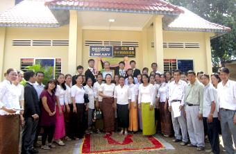 カンボジアへの支援(図書館建設)